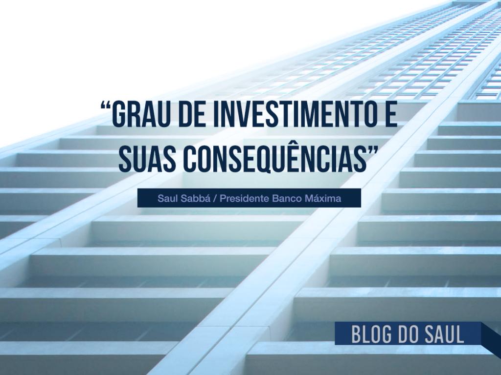 Saiba o que é investment grade, e o que significa perdê-lo.