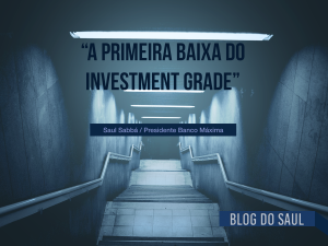 S&P rebaixou a nota de investimento do Brasil