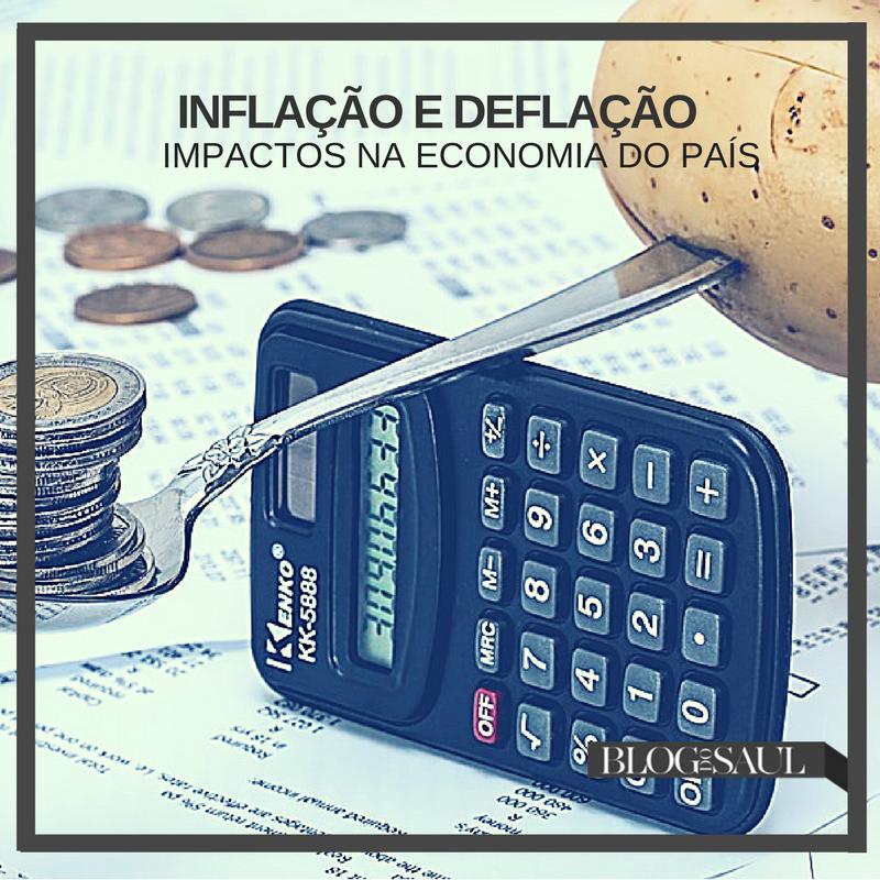 Inflação e Deflação – Impactos na economia do país